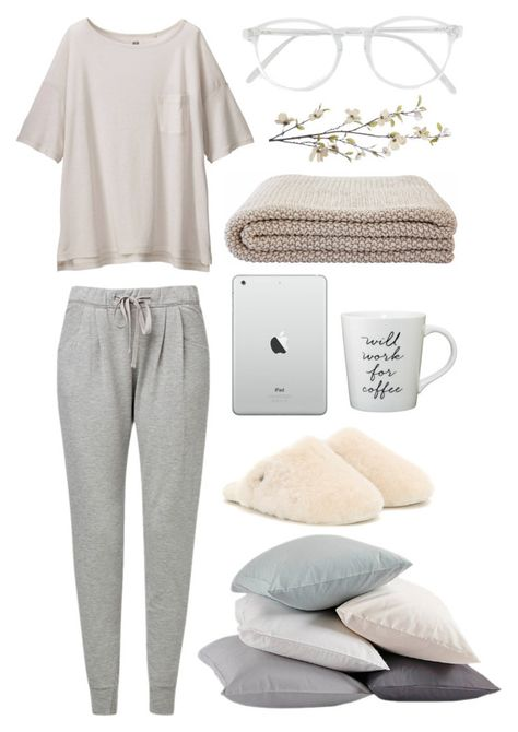 Lazy Day by gul-kar More outfit winter Designer Clothes, Shoes & Bags for Women Lazy Day Outfits, Chill Outfits, Mode Outfits, Winter Outfits, Casual Outfits, Fashion Outfits, Fashion Women, Lazy Fashion, Celebrities Fashion