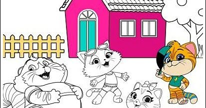 Kids Coloring Book Coloring Page Free Coloring Pdf Cat Coloring Book Coloring Books Disney Coloring Pages