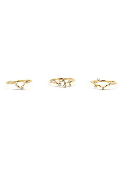 One for me, one for you, we all need a little zodiac ring.
