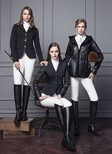 Equestrian Fashion : Michael and Kenzie 1911