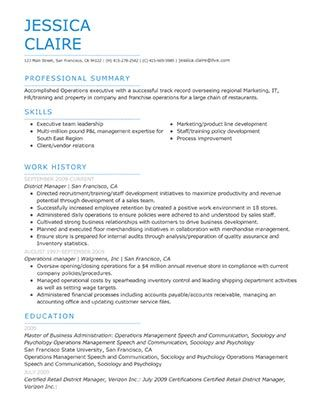 Choose Template My Perfect Resume Perfect Resume Resume