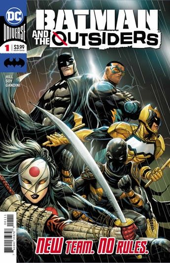The Dark Knight Sends Black Lightning Katana Orphan And Signal After A Girl With Mysterious Powers In Batman And The Outsi The Outsiders Comics Comics Online