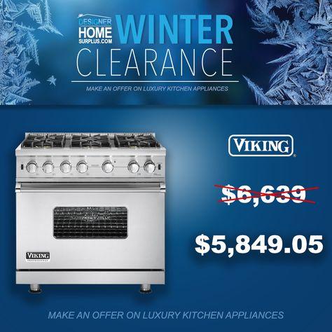 Clearance Sale On High End Appliances Viking U Line Bertazzoni Kitchenaid Alfresco Cap Refrigerator Clearance Kitchen Appliances Luxury Refrigerator Sale