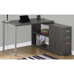 Leicester Reversible L Shape Executive Desk In 2020 L Shaped Executive Desk Home Office Design Executive Desk