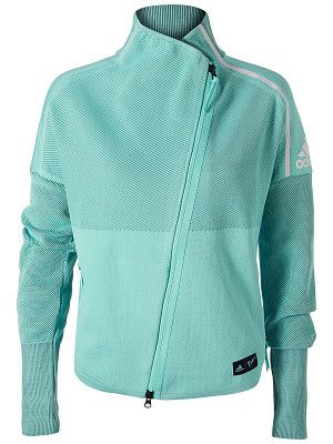 Product Image Of Adidas Women S Spring Parley Zone Heartracer Jacket Adidas Women Tennis Clothes Jackets
