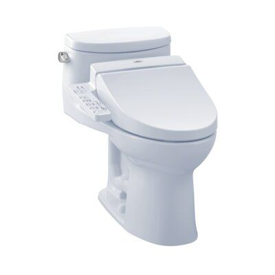 Toto Supreme 1 28 Gpf Elongated Bidet Toilet With C100 Electronic