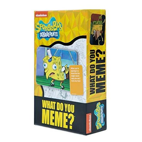 Spongebob Squarepants Deck by What Do You Meme? - Designed to be Added to What Do You Meme? Core Game - Default