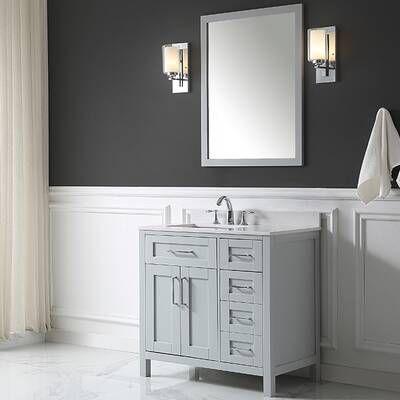 Pin By Izzy Iz On Decobath Single Bathroom Vanity Contemporary Bathroom Vanity Vanity Set With Mirror