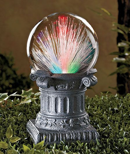 Solar Fiber Optic Gazing Ball | The Lakeside Collection | Gazing Balls |  Pinterest | Yard Globe, Gardens And Flowers Garden