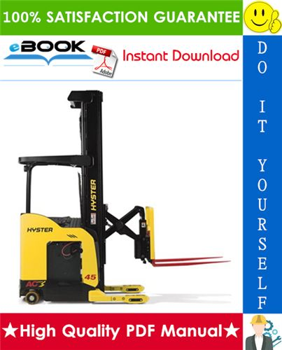 This is the COMPLETE Service Repair Manual for the Hyster