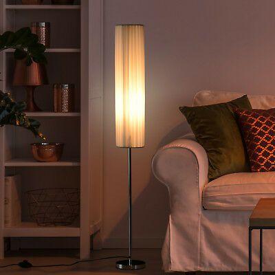 Living Room Floor Lamps Ebay Homcom 120 Cm Tall Floor Lamp Bedside Light Free Standing Cozy Polyester Shade 5056029816165 Ebay In 2020 Tall Floor Lamps Lamp Floor Lamp Save On Living Room Floor Lamps