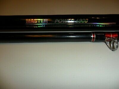 Master Power 6000 Model 6504 11 Ft Surf Rod 10 Heavy Duty Line Guides Surf Rods Bottom Fishing Telescopic Fishing Rod