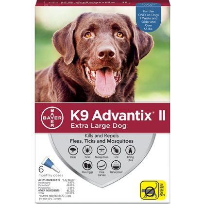 K9 Advantix Ii Flea Tick Fleas Large Dogs