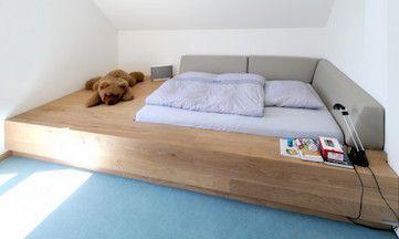 Podest Bett Gastebett Bett Selber Bauen Podestbett Wohnen