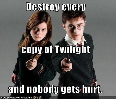 22 Epic Harry Potter Vs Twilight Memes Gag Loop Harry Potter Vs Twilight Harry Potter Ginny Harry Potter Ginny Weasley