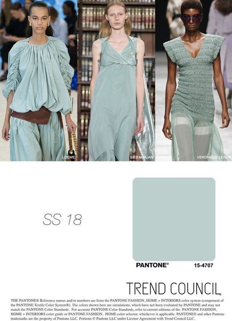 Colors of the 2018 / Цвета 2018 года | The Anastasia Says #FashionTrendsSs18