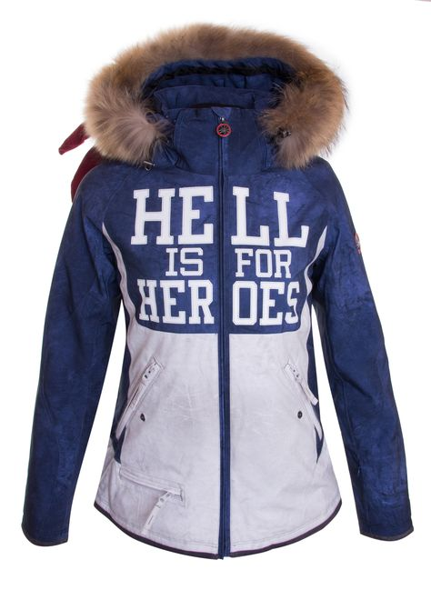 Pin auf Hell is for Heroes Ski Wear
