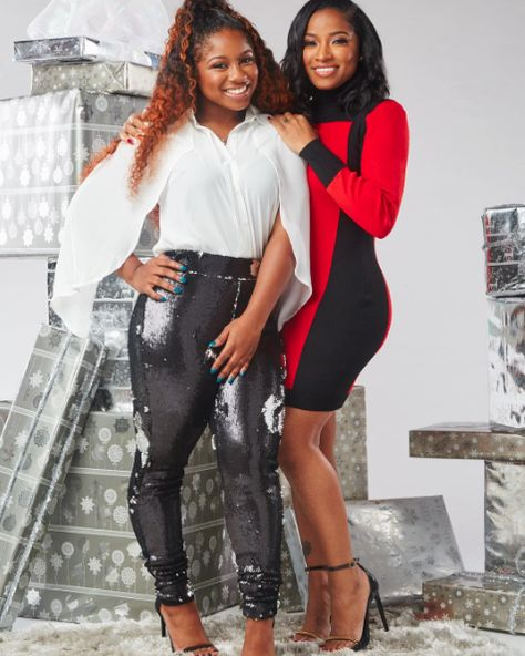 These Two - 14 Photos Of Toya Wright And Reginae Carter Being Total Mother-Daughter Goals