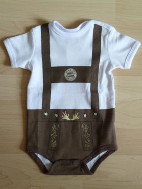 FC Bayern Baby Body Lederhose