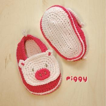 Lion Baby Booties Crochet Pattern | Stuff to Make | Pinterest