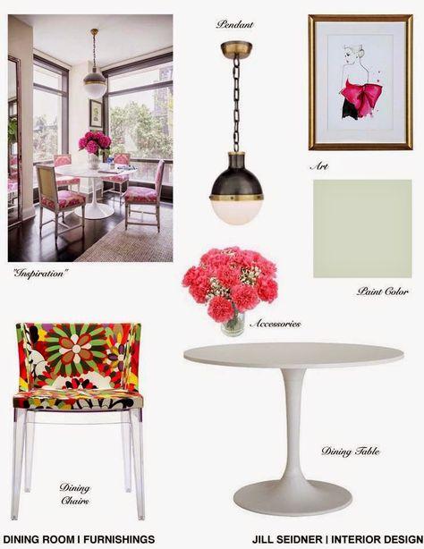 Jill Seidner Interior Design Concept Boards Blog Pinterest