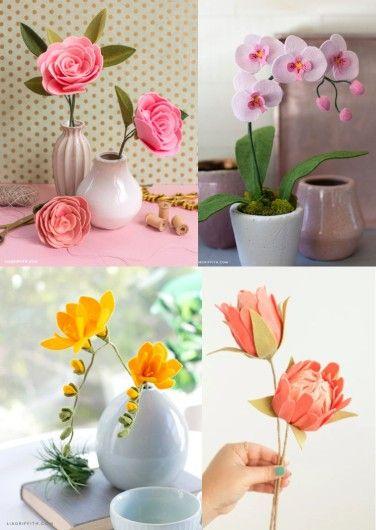Membuat Kreasi Dari Flanel Menjadi Hobi Bagi Beberapa Orang Jadikan Hobimu Membuat Kreasi Flanel Menjadi Sumber Bunga Kertas Kain Flanel Bunga Kertas Raksasa