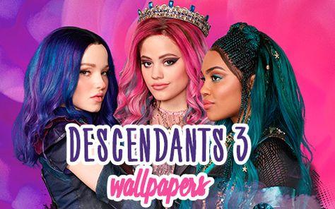 Disney Descendants 3 Hd Desktop Wallpaper In 2021 Disney Descendants Disney Descendants 3 Dc Superhero Girls Dolls