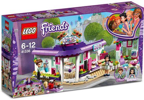 Lego Friends Emma S Art Cafe 41336 Lego Friends Sets Lego Friends Lego