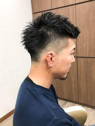 Cogic スキンフェード ジェットモヒ 髪型 ヘアスタイリング