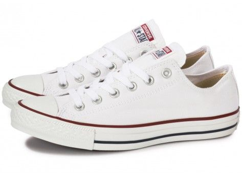 converses basses blanches