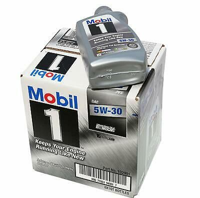 Details About 6pk Quarts Mobil 1 Full Synthetic Motor Oil 5w 30 5w 20 10w 30 0w 20 Free Ship In 2020 Synthetic Oil Motor Oil Oils