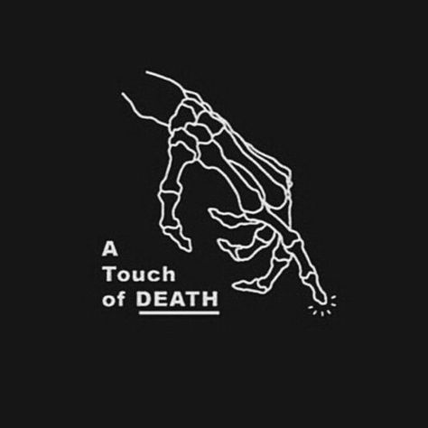 A little drop of poison and a touch of death #aesthetic #black #death #quotes