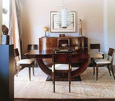 Art Deco Dining Room   Rare To Find Such Good Furniture   Art Deco U0026 Noveau  Forever   Pinterest   Art Deco, Room And Deco Interiors