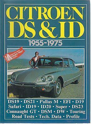Citroen DS /& ID 1955-1975 book paper