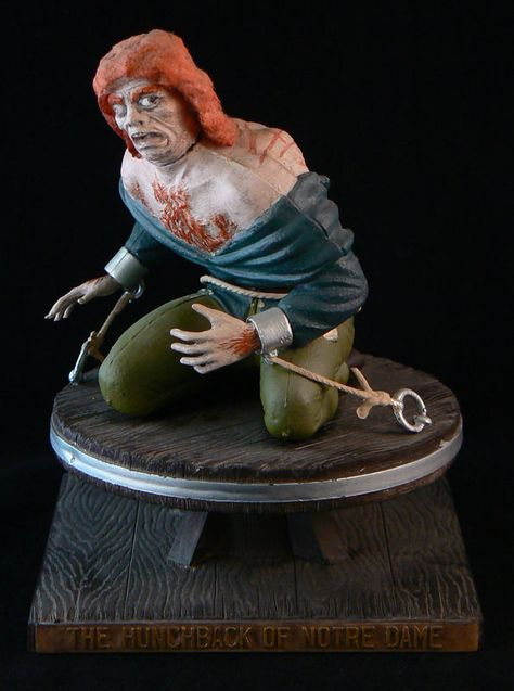 Toys In The Attic The Aurora 13 7 Hunchback Of Notre Dame 1964 Original Kit Issued 1964 1968 Toys In The Attic Movie Monsters Character Modeling