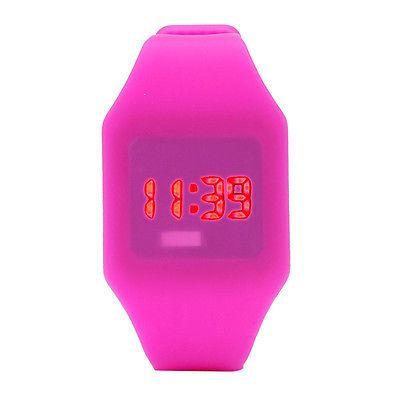 Hombre Y Mujer Silicona Led Reloj Deportivo Pulsera Digital Resistente Al Agua Precio 1 50 Euros Relojes Mujer Deportivos Reloj Relojes Mujer