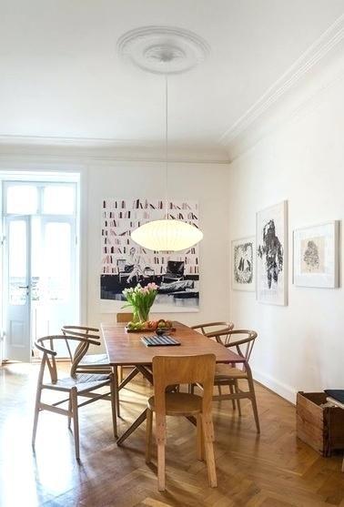 Image Result For George Nelson Saucer Pendant Chandelier In Living Room Interior Living Room Lighting