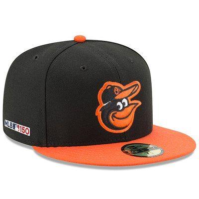 New Era 59Fifty Cap MLB BLACK Baltimore Orioles