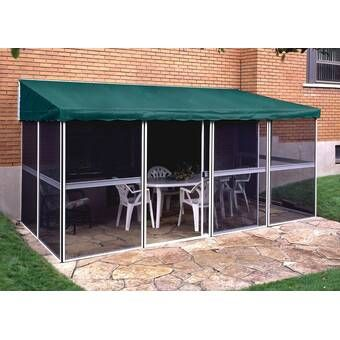Budapest 12 Ft W X 10 Ft D Aluminum Patio Gazebo In 2020 Patio Gazebo Patio Awning Aluminum Patio