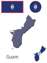 country Guam silhouette vector , #SPONSORED, #Guam, #country, #vector, #silhouette #Ad