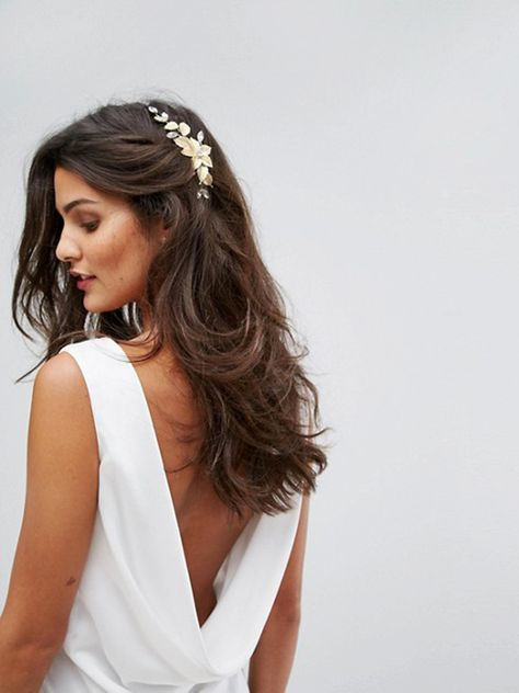 11 Stunning Wedding Headpieces For Every Bride Wedding Guest Hairstyles Long Summer Wedding Hairstyles Wedding Guest Hairstyles