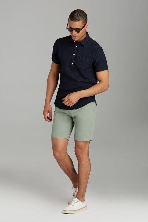 Super Moda Casual Hombre Moreno Ideas Mens Shorts Outfits Polo Shirt Outfits Mens Casual Outfits Summer