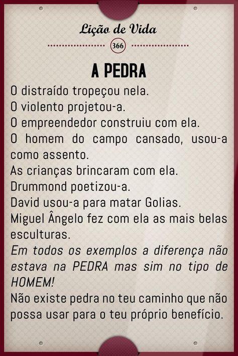 GEMAS DO BRASIL: A PEDRA- LIÇÃO DE VIDA