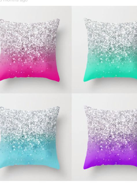 Sparkly pillows to make your home shine! #rugsnowdesign