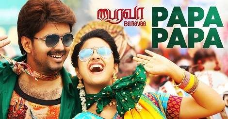Papa Papa Mp3 Song Download Bairavaa Tamil Movie 2019 Mp3 Song Download Tamil Movies Movies 2019
