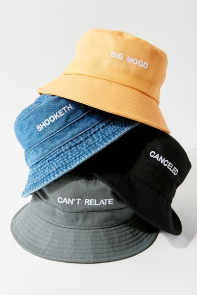 Hat Moment Phrase Bucket Hat Bucket Hat Fashion Outfits With Hats Bucket Hat Outfit