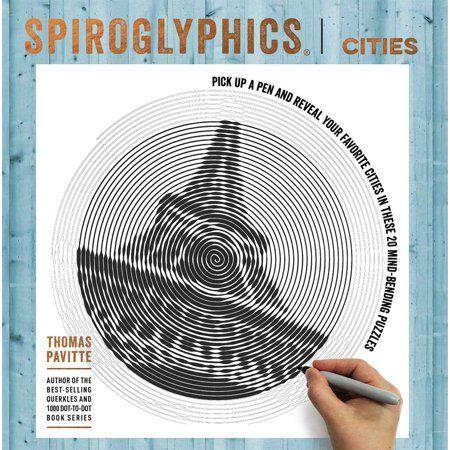 Spiroglyphics Spiroglyphics Cities Paperback Walmart Com Bocetos Artisticos Bocetos Mandalas