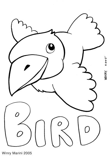 Free Sparrow House Coloring Page For Non Commercial Use By Winry Marini Animals Pages