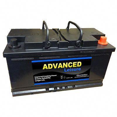 Leisure Battery 110 Amp Lp110 Caravan Motorhome Boat Marine 12 Volt Solar Battery Solar Battery Bank Marine Batteries