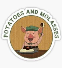 potatoes and molasses over the garden wall sticker - Over The Garden Wall Merchandise